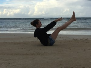 pilates teaser plage
